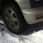 Протектор у покрышек Cordiant Off Road глубокий - можно уверенно ездить по снегу.