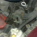 Снимаем разъемы термодатчиков с крышки термостата