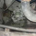 Снимаем крышку и старый термостат