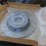 Внутри коробок диски запаяны в полиэтилен, чтобы не ржавели от влаги.