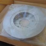 Новый тормозной диск Pajero Jr. - вид с внутренней стороны