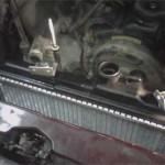 Новые верхние кронштейны радиатора, сделанные Сергеем под оригинальные демпферы