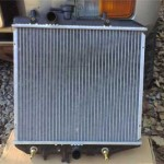 Новый радиатор охлаждения двигателя для Pajero Jr.