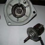 Вид ротора и статора моторчика в разобраном виде